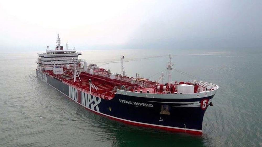 Iran đã thả tàu chở dầu mang cờ Anh
