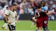 Man Utd thua trên sân West Ham
