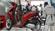 """""""Lỗ hổng"""" trong thu thuế  kinh doanh xe máy"""