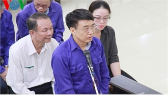 Cựu Thứ trưởng Lê Bạch Hồng nói lời sau cùng 'mong Hội đồng xét xử xem xét thấu đáo'