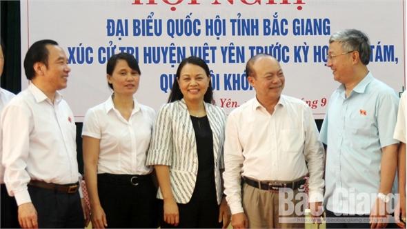 Cử tri huyện Việt Yên kiến nghị đầu tư xây dựng nhà máy xử lý rác thải, giải quyết tình trạng ô nhiễm môi trường