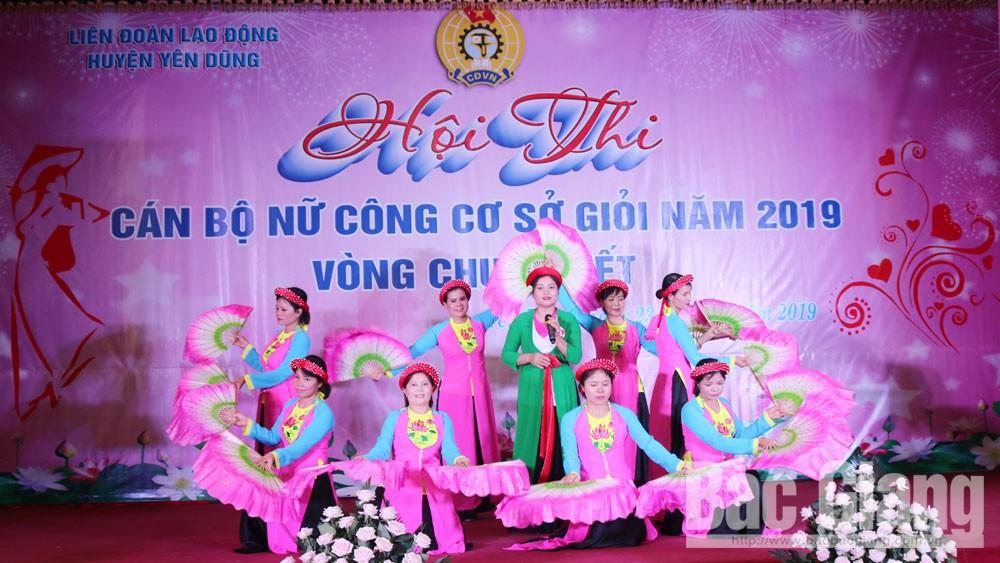 cán bộ nữ công, liên đoàn lao động, Yên Dũng, Bắc Giang, Hà Thị Yến, Tân Dân.