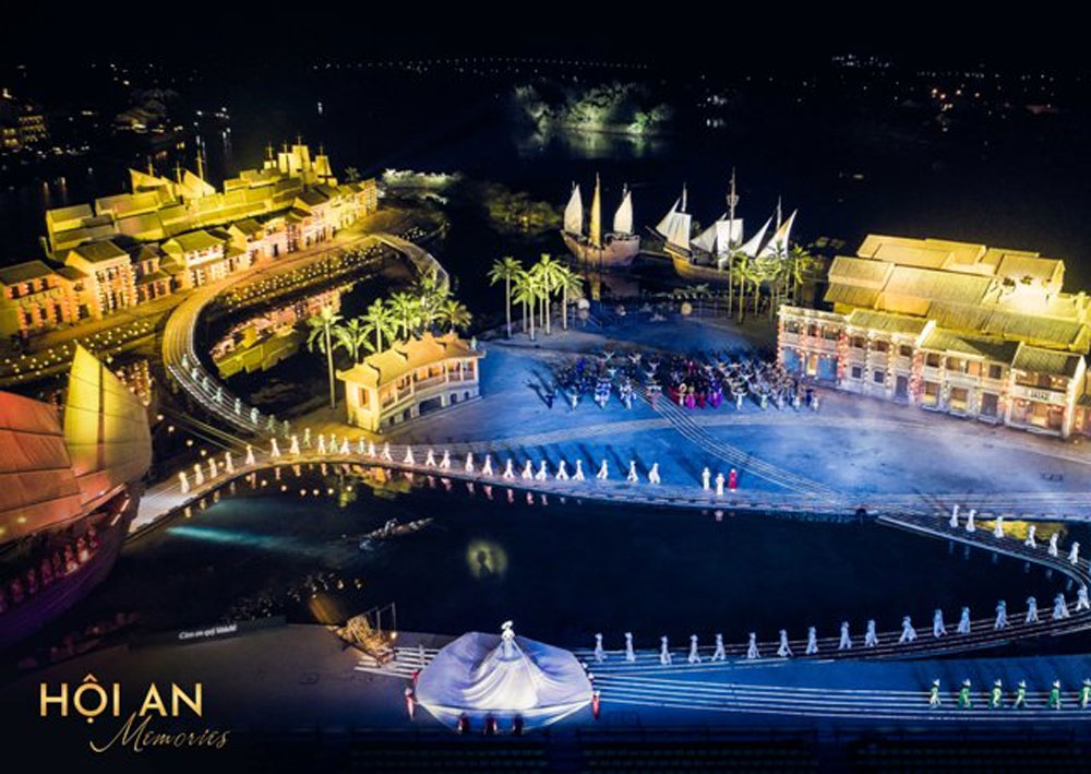 Hoi An Memories show, one millionth audience, Ky Uc Hoi An, history and development, one-millionth visitor, UNESCO