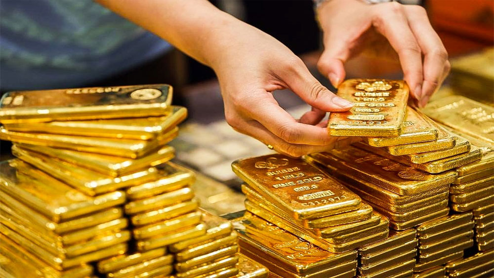 Giá vàng hôm nay 24-9, vàng vọt tăng, neo cao trên đỉnh