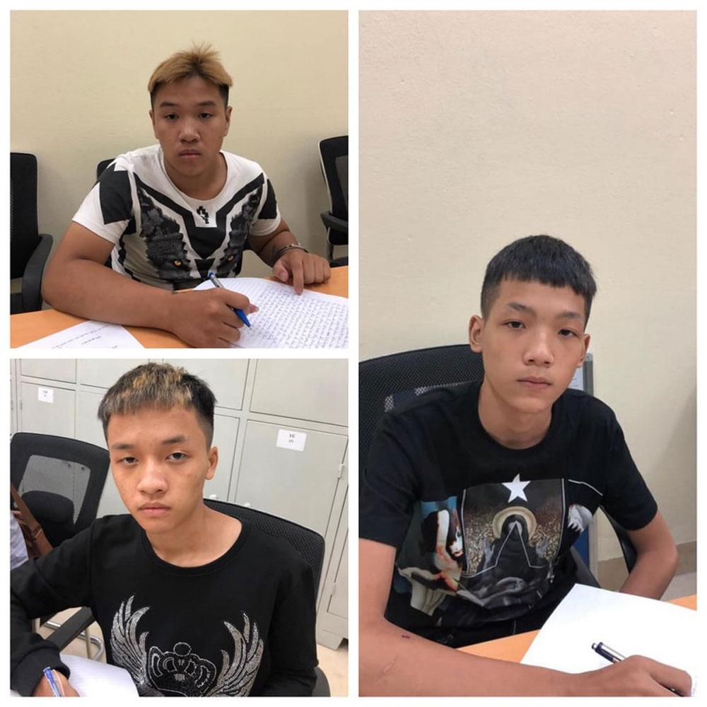 Trần Xuân Quang, nhóm thiếu niên, chuyên đi cướp tài sản, các tài xế grab ở Hà Nội,  Ngô Quang Nhật, Nguyễn Ngọc Minh Hiếu