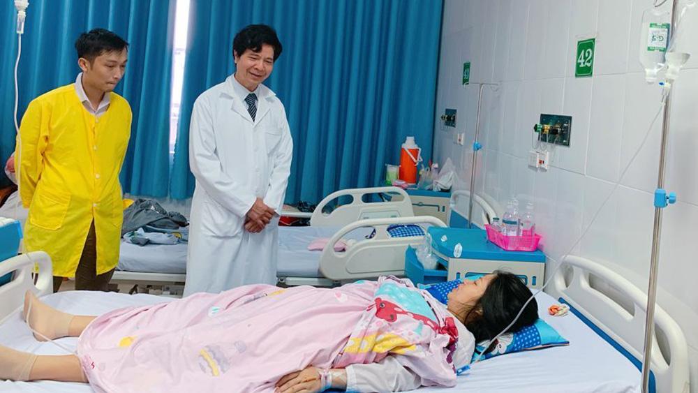 cứu sống, thai phụ, nhau tiền đạo, nhau cài răng lược, Bắc Giang