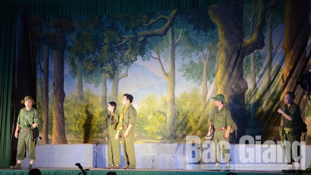 Hiệp Hòa, Nhà hát Chèo Quân đội, Vở diễn điều đọng lại sau chiến trang
