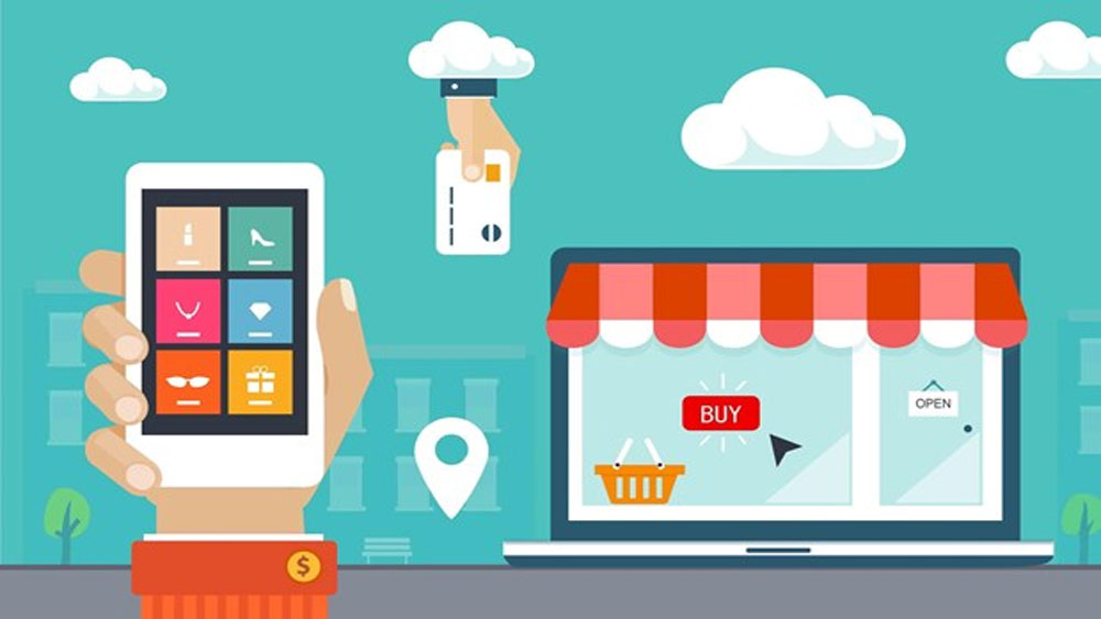 E-commerce, Vietnamese businesses, Ho Chi Minh City, Trade Promotion Agency, internet and electronic equipment, foreign business partners