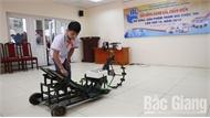 Bắc Giang: Học sinh lớp 8 chế tạo máy cấy lúa năng suất bằng 6 người cấy tay