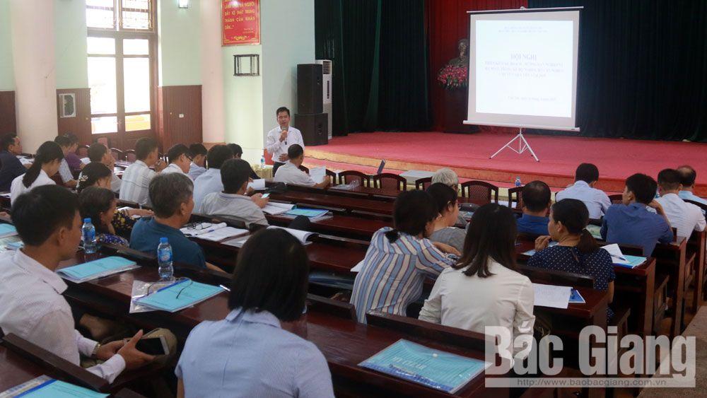Việt yên, tập huấn, rà soát, hộ nghèo, cận nghèo
