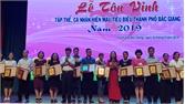 Thành phố Bắc Giang tôn vinh 194 điển hình hiến máu tình nguyện