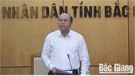 Chủ tịch UBND tỉnh Nguyễn Văn Linh chỉ đạo:  Đẩy nhanh tiến độ giải phóng mặt bằng các khu, cụm công nghiệp
