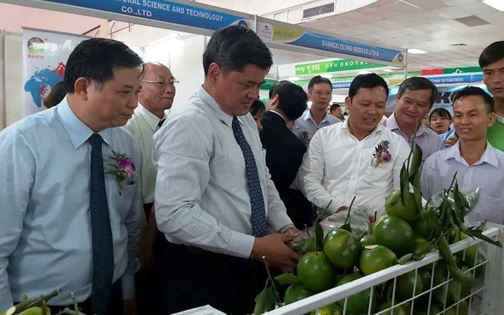 Vietnam, international agriculture fair, AgroViet 2019, domestic and international businesses, regional specialties, high-quality agricultural products