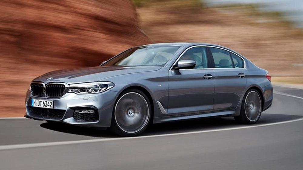 xe điện, hybrid, BMW, BMW 5 series, ô tô điện