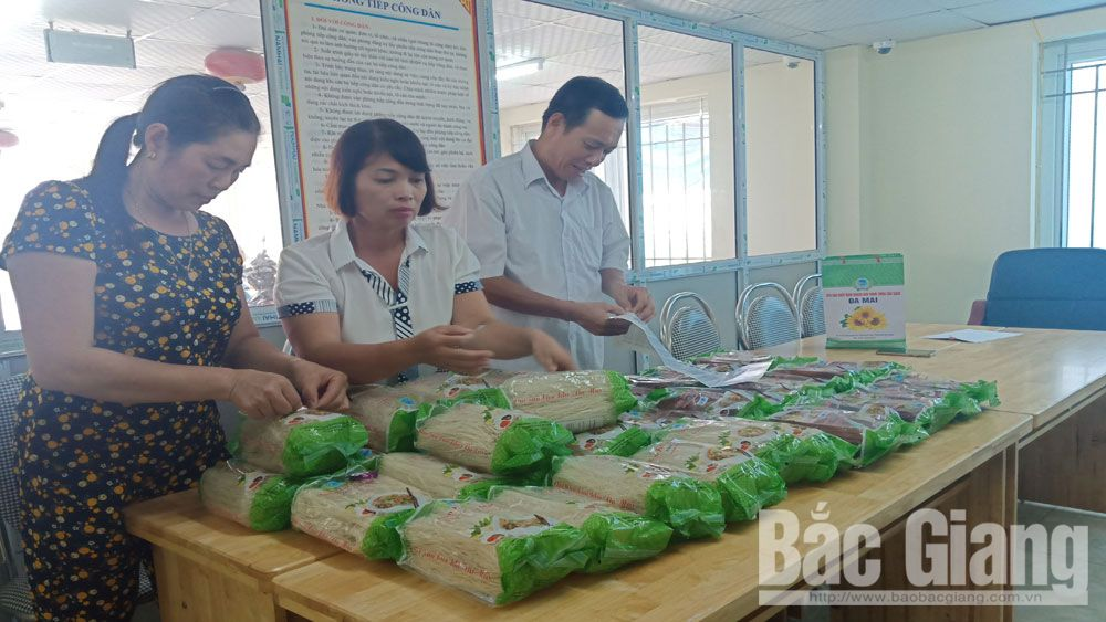 OCOP programme, product value, competitiveness, Bac Giang province, One commune one product, traditional products, craft village products, Da Mai dried vermicelli
