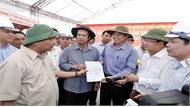 Thủ tướng Nguyễn Xuân Phúc thị sát tiến độ thi công cao tốc Trung Lương – Mỹ Thuận
