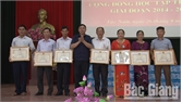 Lục Nam khen thưởng 120 gia đình, dòng họ khuyến học