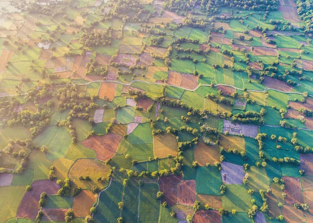 Lensman, Vietnam's beauty, Pham Huy Trung, breath-taking aerial photographs, Vietnam's landscapes
