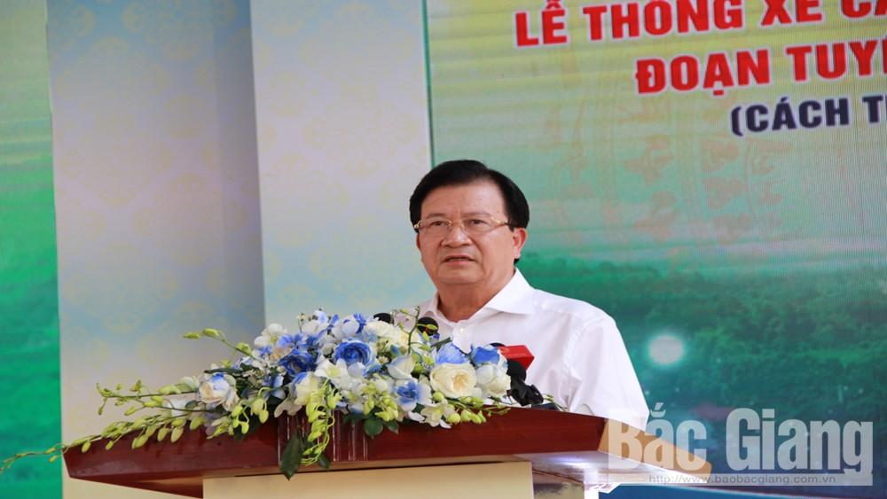 Thông xe, cao tốc, Bắc Giang, Lạng Sơn