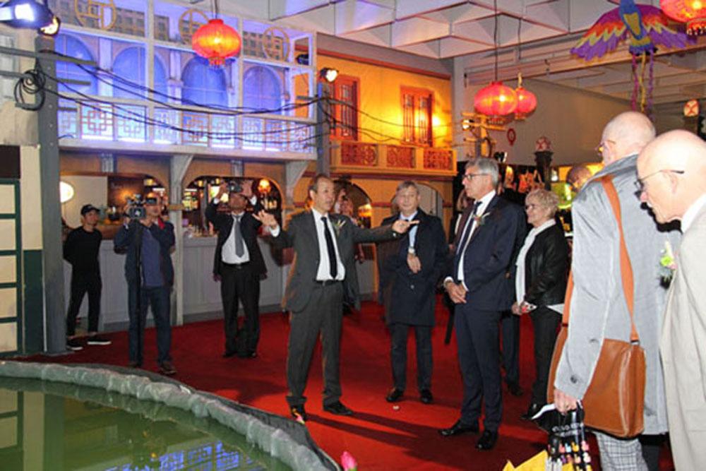 Vietnam, culture, tourism and cuisine, France, international friends, Vietnamese cultural space, culture-tourism section