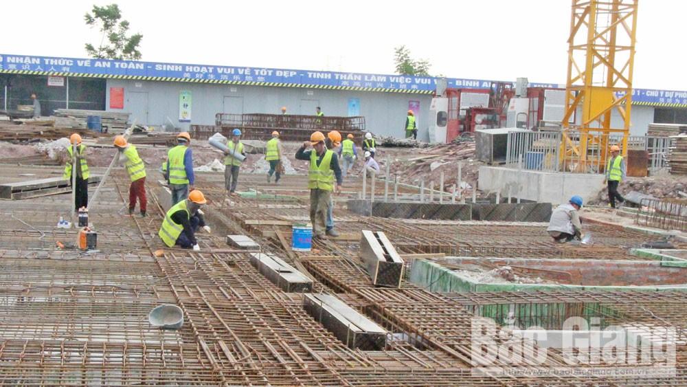 Bắc Giang, nhà ở xã hội, người lao động,  khu, cụm công nghiệp,