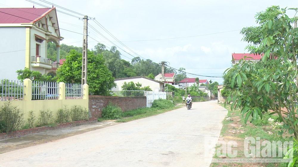 Trí Yên phấn đấu về đích nông thôn mới