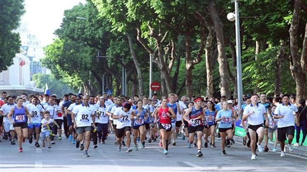 National team members triumph at Run for Peace