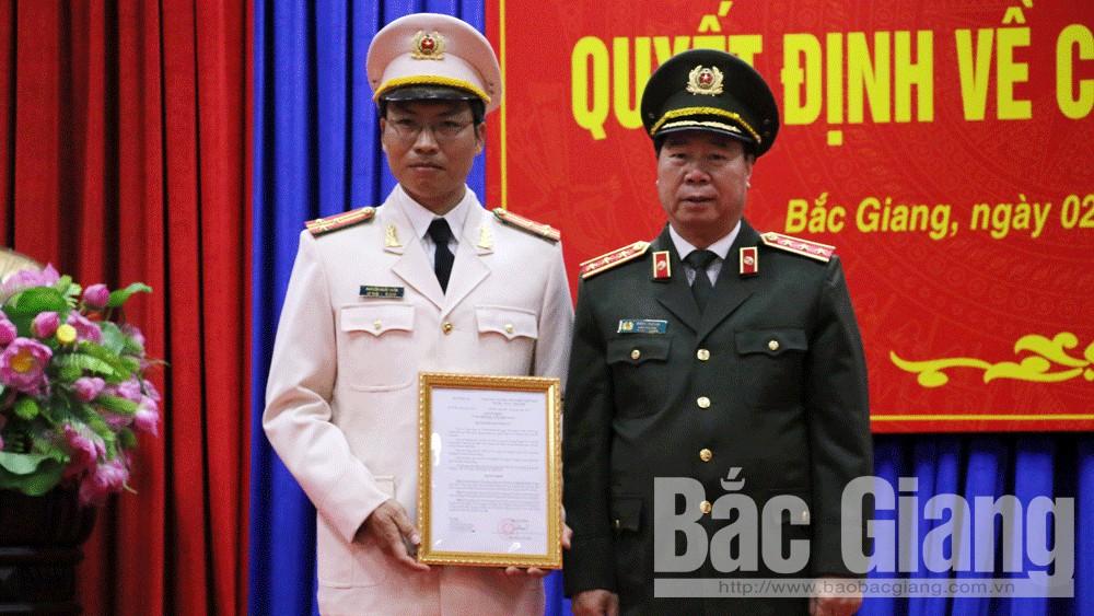 Giám đốc Công an tỉnh Bắc Giang. Nguyễn Quốc Toản, Bắc Giang, Bí thư Tỉnh ủy Bùi Văn Hải