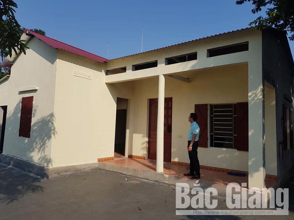 Bắc Giang, hỗ trợ kinh phí xây dựng nhà, hỗ trợ đột xuất các gia đình khó khăn, Lục Nam, Tân Yên