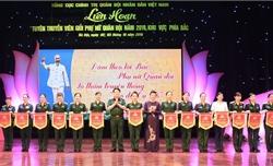 Khai mạc Liên hoan Tuyên truyền viên giỏi phụ nữ Quân đội năm 2019 khu vực phía Bắc