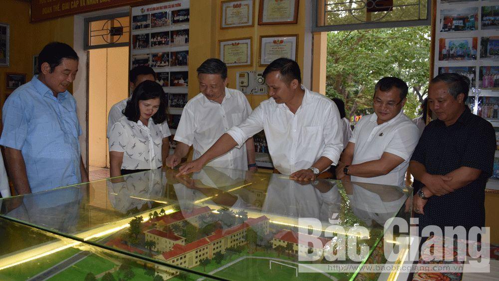 Đại tướng Tô Lâm; Bộ trưởng Bộ Công an; Tân Yên; Trường THPT Tân Yên 1.