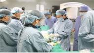 Lần đầu tiên bệnh viện tuyến tỉnh ứng dụng robot trong phẫu thuật cột sống