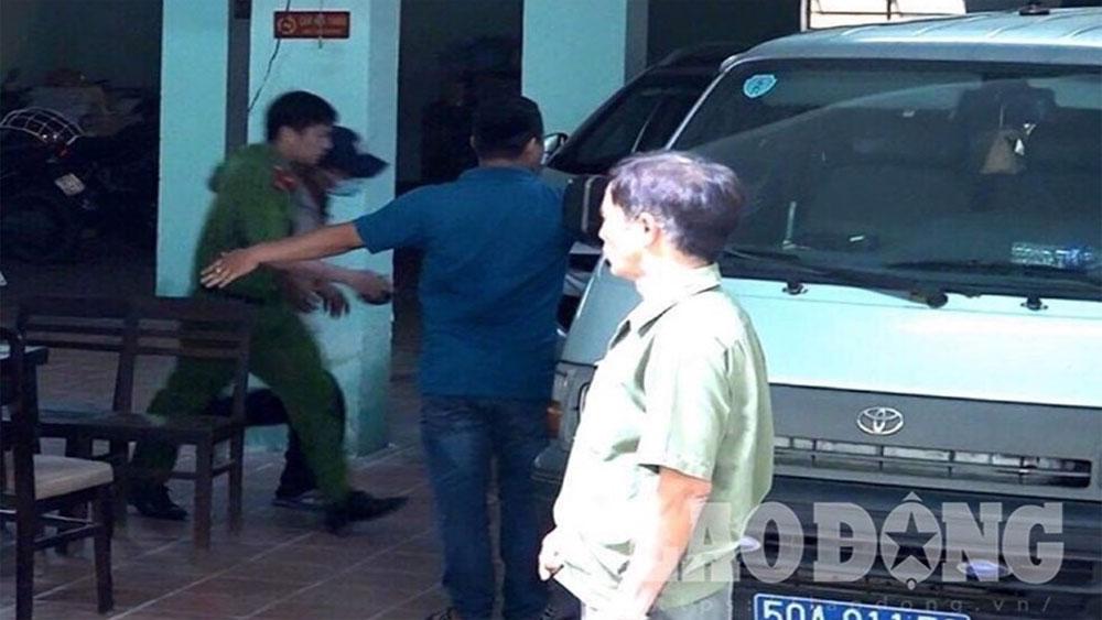 Khám xét, nơi làm việc, thẩm phán Nguyễn Hải Nam
