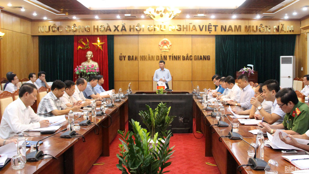 Bac Giang province, poor quality food, safe production, review meeting, food and agricultural materials, supply – demand connection