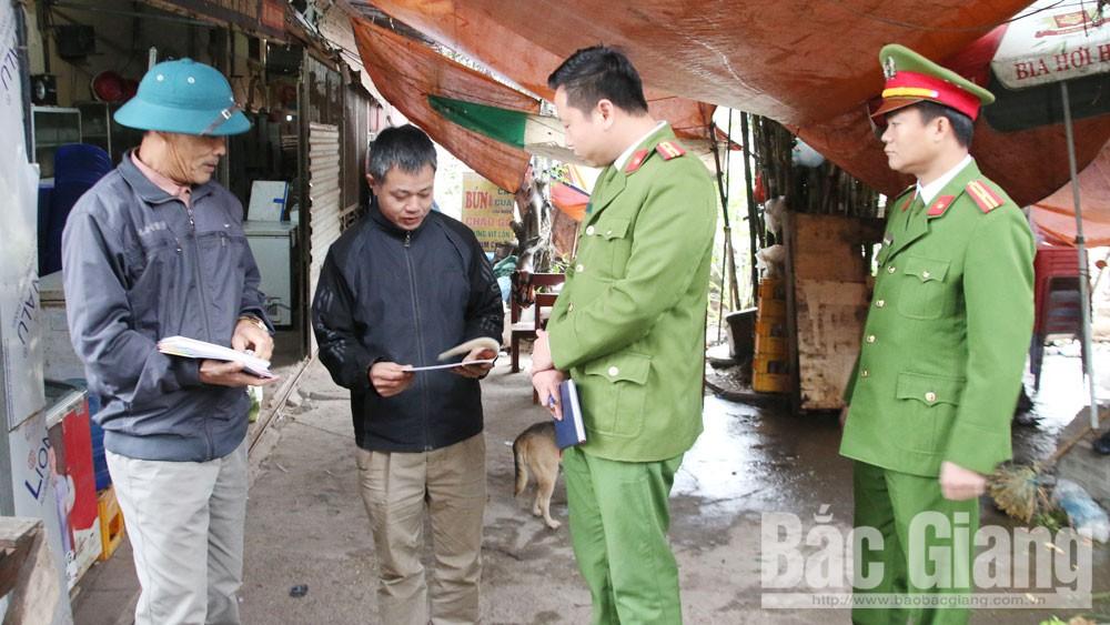 Bắc Giang, phòng cháy, chữa cháy, Công an tỉnh, chấp hành pháp luật