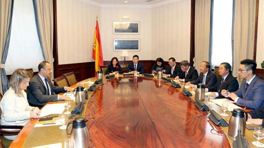 NA Vice Chairman Do Ba Ty pays official visit to Spain