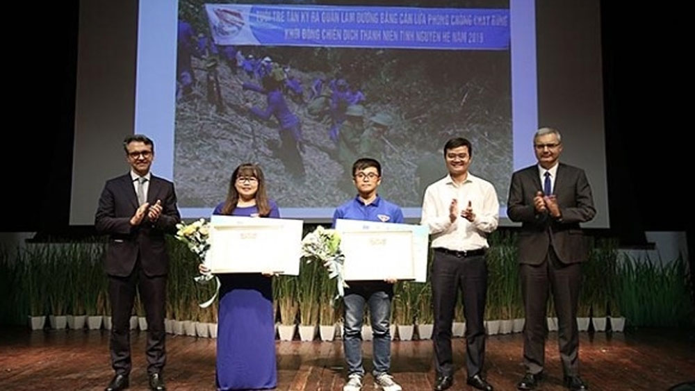 Winners of photo contest on actions for climate change honoured