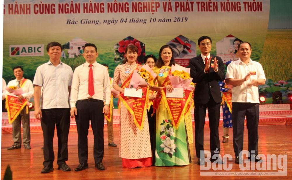 Hội thi nông dân tỉnh Bắc Giang,  đồng hành cùng Ngân hàng Nông nghiệp và Phát triển nông thôn, Agribank Chi nhánh Bắc Giang II