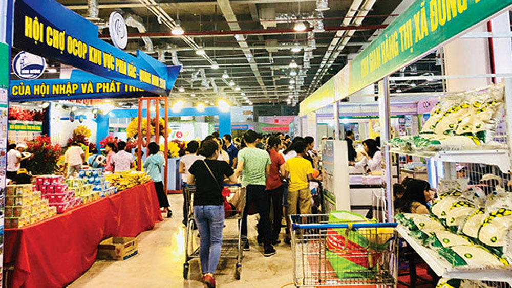 OCOP fair, 100 stalls, Hanoi, One Commune, One Product, 65th anniversary, agricultural products,  safe farm produce