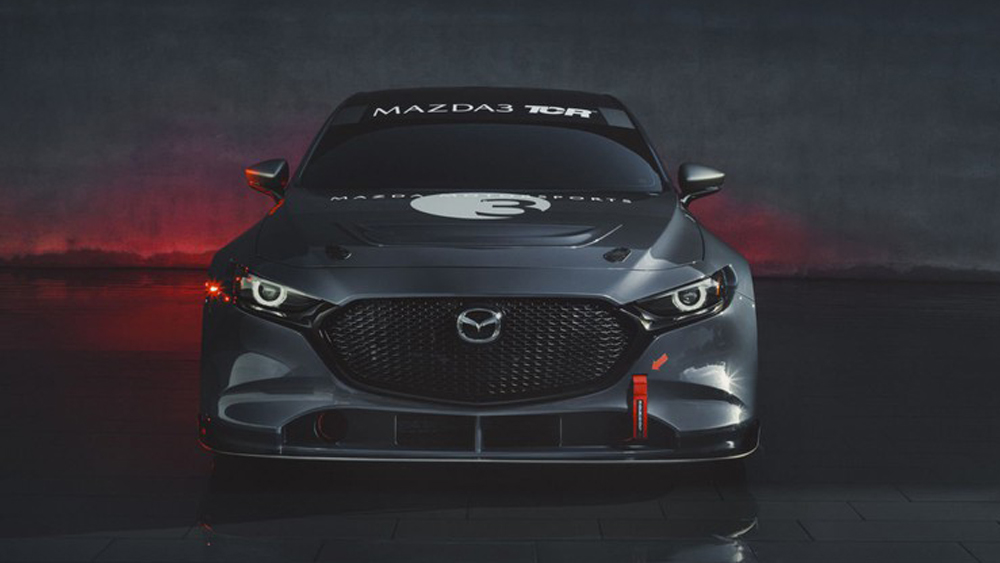 Cận cảnh Mazda3 TCR 2020, hatchback, mẫu xe thương mại