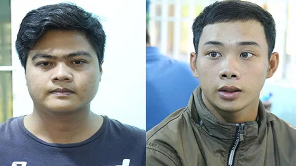 Hai kẻ cướp taxi, ra đầu thú, Lê Văn Nhân,, Võ Thanh Đình
