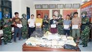 Hà Tĩnh: Bắt 6 đối tượng mang trái phép số lượng lớn ma túy từ Lào vào Việt Nam