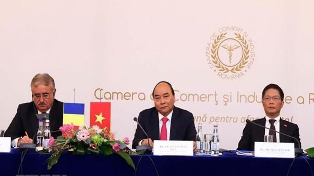 Vietnam-Romania, joint committee, first ministerial-level session, Business Environment, substantial and effective development