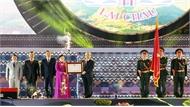 Thường trực Ban Bí thư Trần Quốc Vượng dự Lễ kỷ niệm 110 năm thành lập tỉnh Lai Châu
