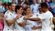 Hazard tỏa sáng, Real Madrid thắng tưng bừng trước Granada