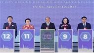 Thủ tướng Nguyễn Xuân Phúc dự Lễ động thổ và công bố Dự án thành phố thông minh