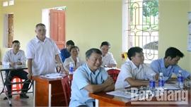 Trưởng thôn tham gia cấp ủy: Khẳng định vai trò, phát huy trách nhiệm