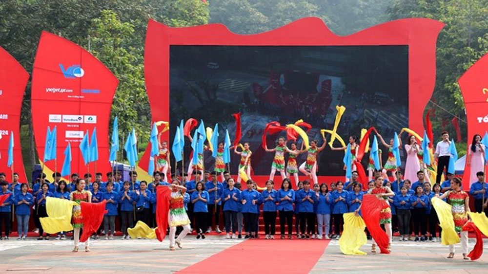 """I love my Motherland"" journey launched in Phu Tho province"