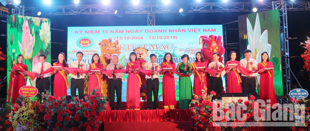 Bac Giang province, foster tourism, business activities, culture, tourism and trade week,  Business Association, 15th Vietnamese Entrepreneurs' Day, business and investment partnerships