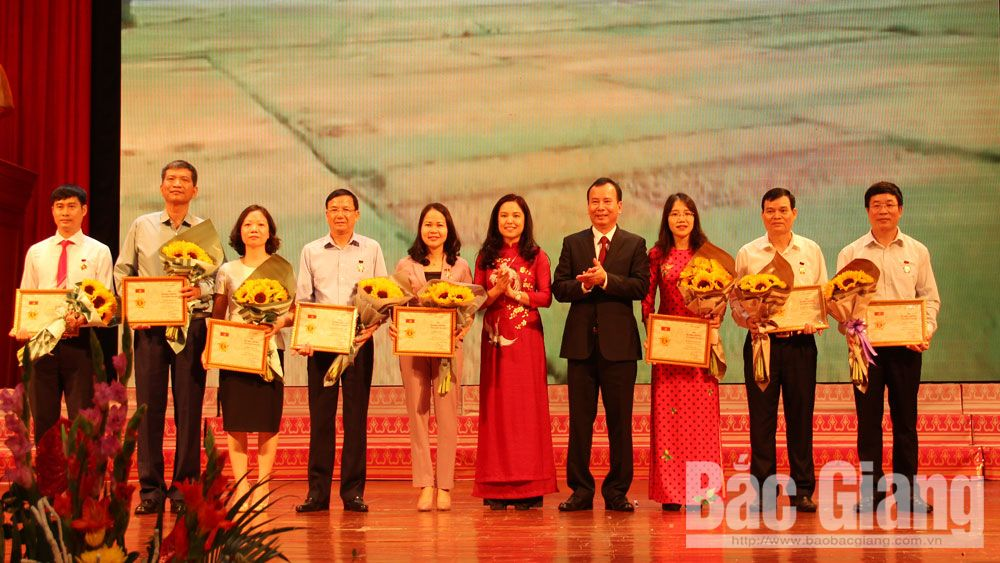 Ban Dân vận Tỉnh ủy Bắc Giang; Tháng Dận vận, Lê Thị Thu Hồng, Lại Thanh Sơn,